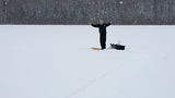 New Year Ice Fishing