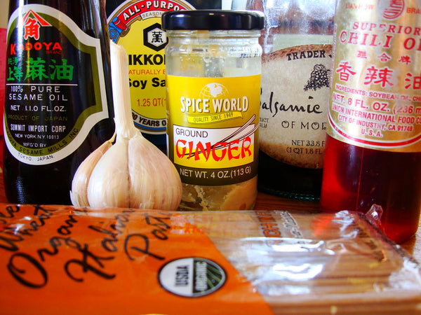 Sesame noodle ingredients