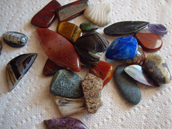 Stones for lapidary
