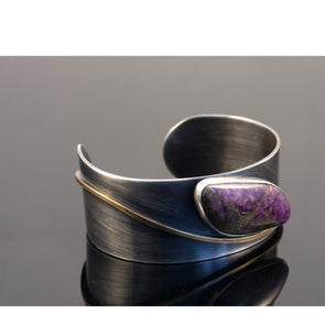Purple Curve Bracelet