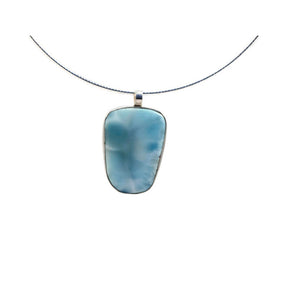 Small Larimar Necklace