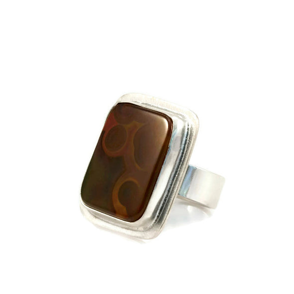 Brazilian Agate Ring