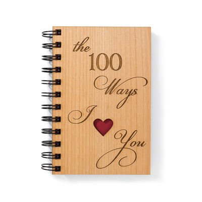 Wood Writing Journal by Indigo Ember