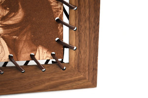 Leather Lace Picture Frame