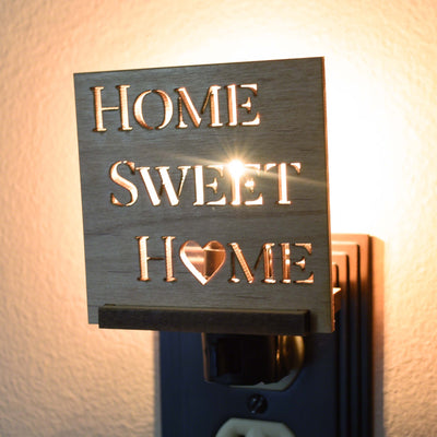 Rustic Home Decor Night Light