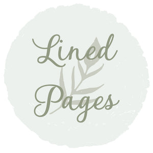 Large Notebook Lined Pages Upgrade