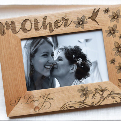 Mother of the Bride Gift Frame from Daughter