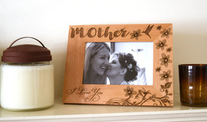 Mothers Day Photo Wood