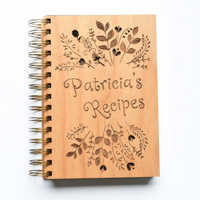 Personalized Blank Recipe Book