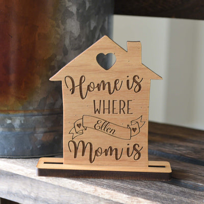 Heartwarming Gift for Mom Personalized Table Name Card