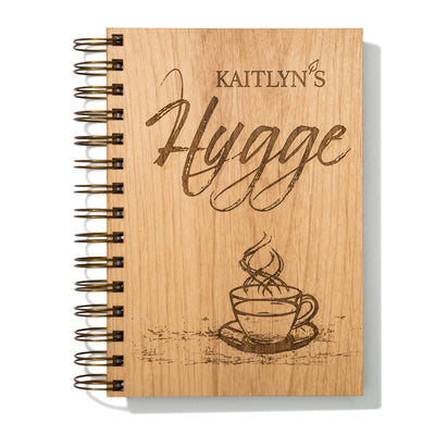 Personalized Hygge Wood Journal