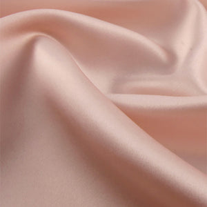 Golden pink satin