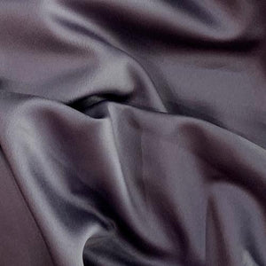 Slate purple satin