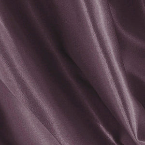 Mauve purple satin