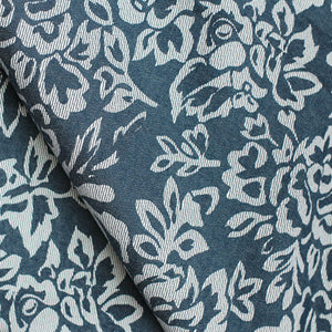 Light navy blue floral