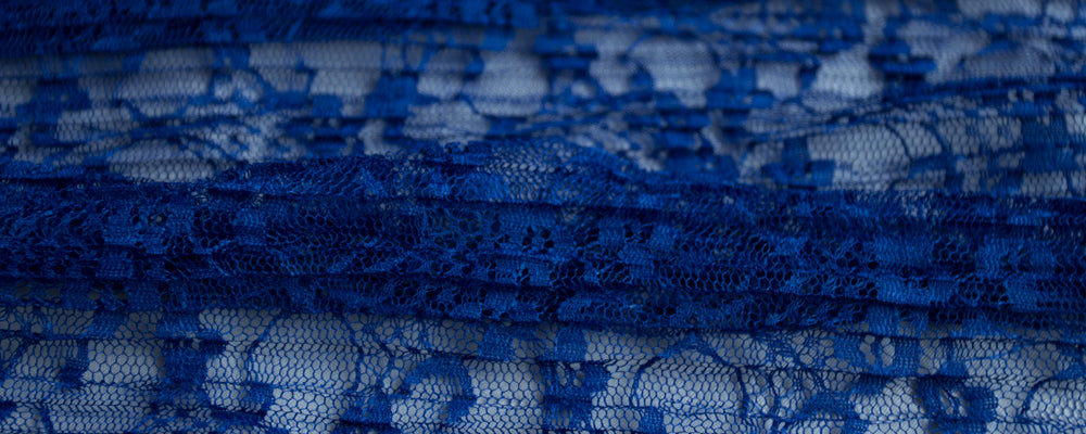 custom skirts fabric blue floral lace