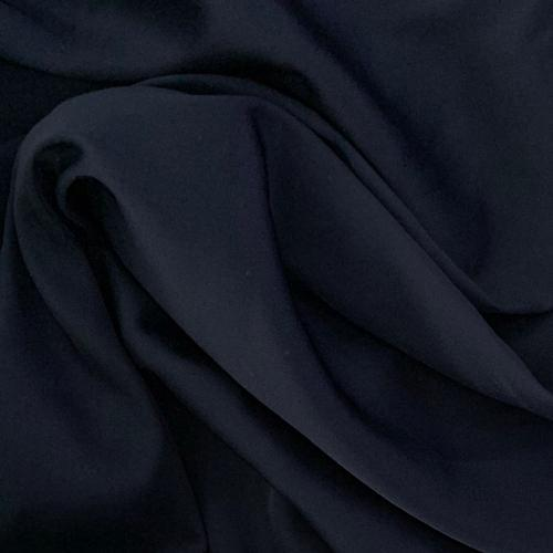 custom skirts fabric dark blue satin