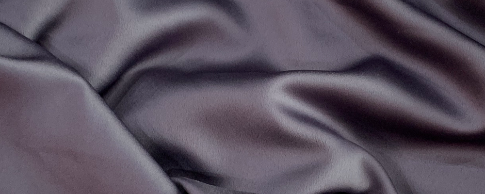custom skirts fabric slate purple satin