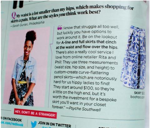 custom clothes review Redbook Magazine