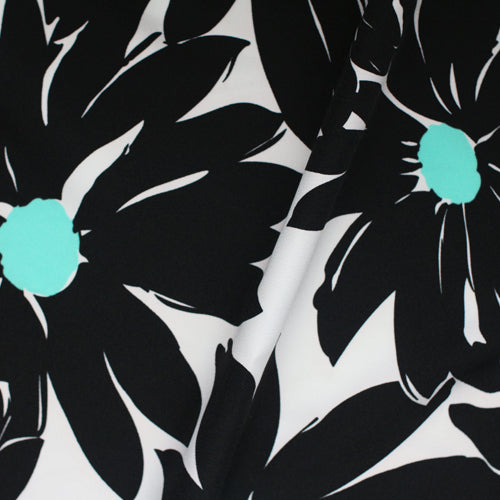 custom pencil skirts Turquoise center floral