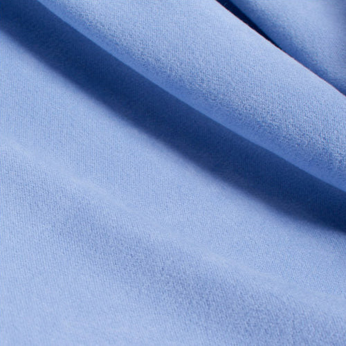 custom skirts fabric light blue crushed suede