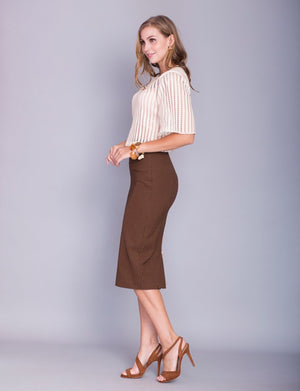Stella custom pencil skirt