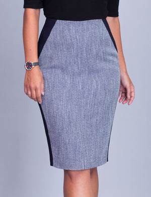 Chrissy custom pencil skirt