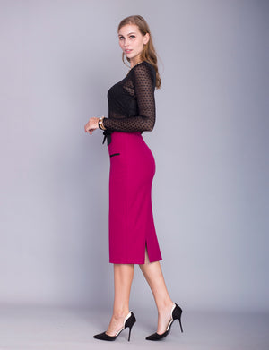 Kelly custom pencil skirt