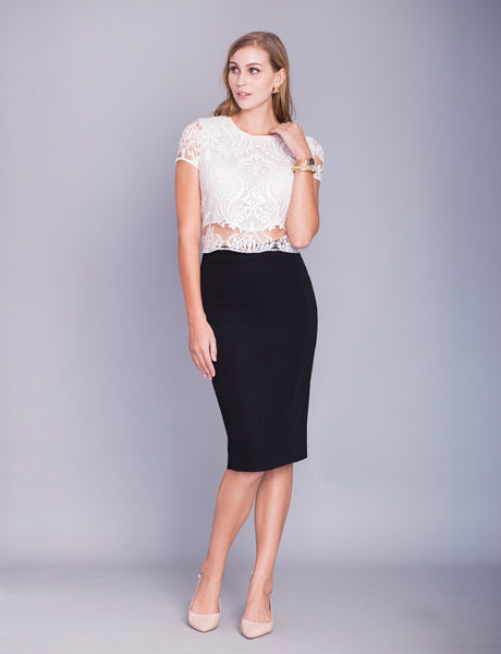 Lillian custom pencil skirt