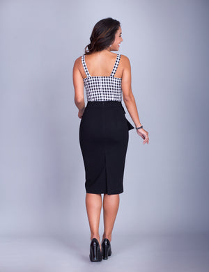 Rachel custom pencil skirt