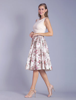 Grace custom A-line skirt