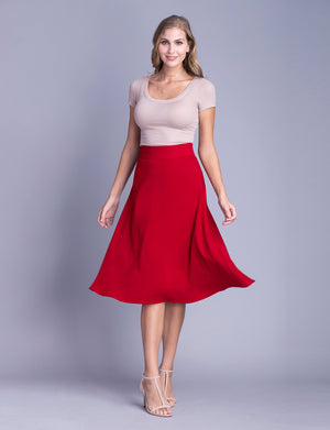 Lauren custom A-line skirt
