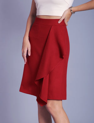 Mila custom A-line skirt