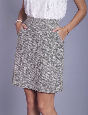 Samantha custom A-line skirt