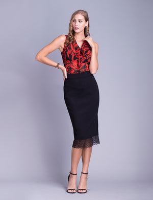 Alice custom pencil skirt
