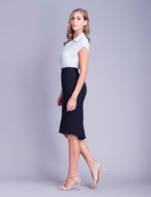Flora custom pencil skirt