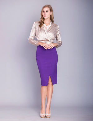 Clara custom pencil skirt
