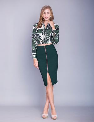 Elaine custom pencil skirt