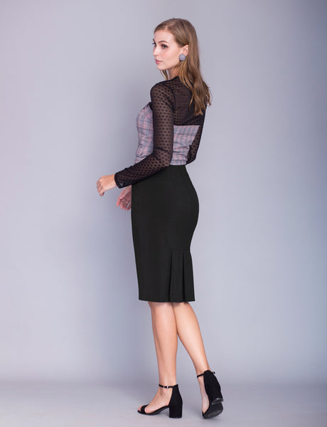 Kimberly custom pencil skirt