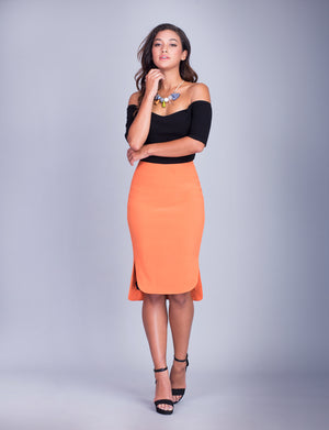 Tanya custom pencil skirt