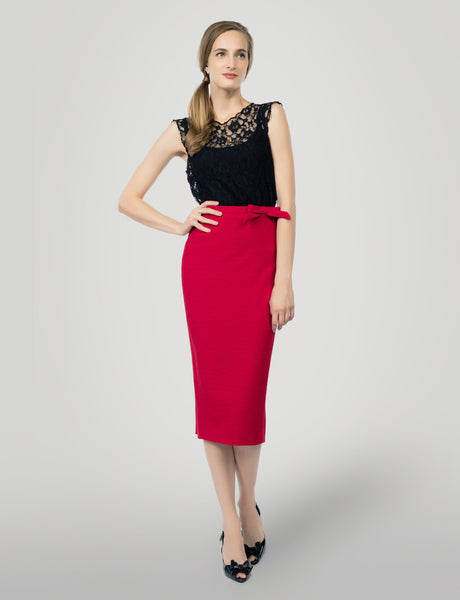 Jennifer custom pencil skirt- midi- Exclusive offer<!--red--><!--aw-->