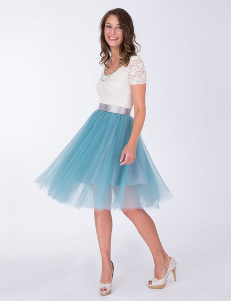 Ashley custom tulle skirt