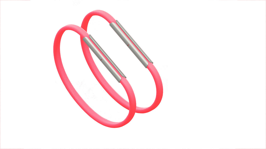 Neon Pink Bands