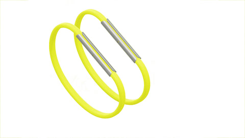 Hot Yellow Bands