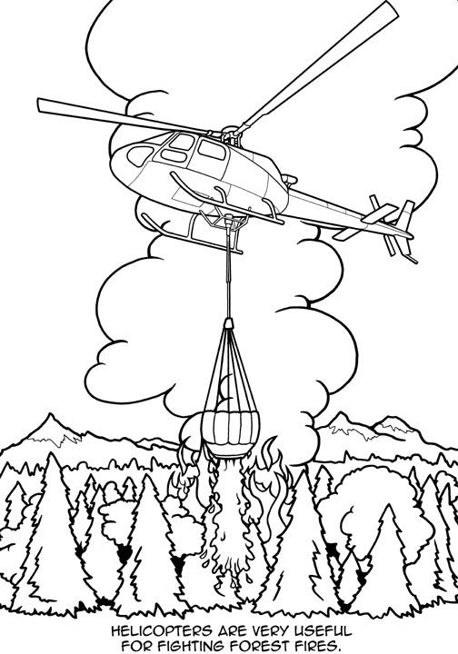 Airplane coloring book & other aviation books for kids | AVIATORwebsite