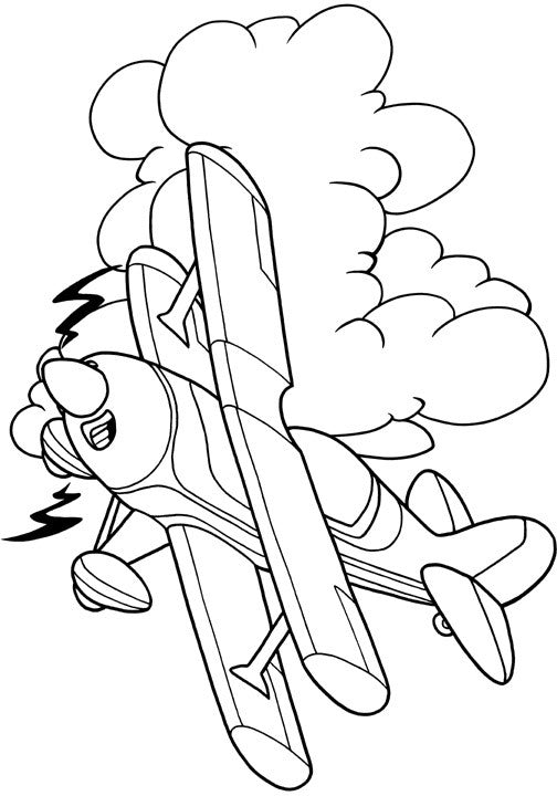 - Chicken Wings - My First Airplane Coloring Book AVIATORwebsite