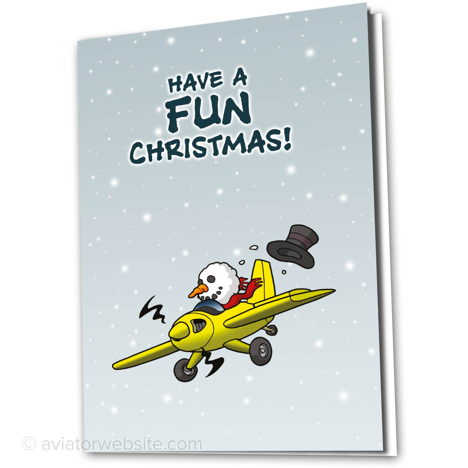 Aviation Christmas Cards for pilots and airplane geeks | AVIATORwebsite