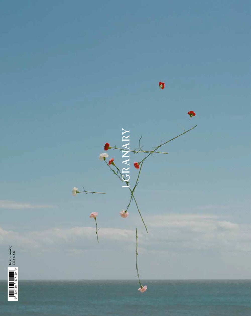 SOLD OUT / FLOWER COVER / 1 GRANARY MAGAZINE / ISSUE 4