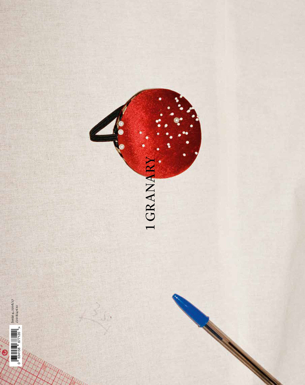 SOLD OUT / PIN COVER / 1 GRANARY MAGAZINE / ISSUE 4