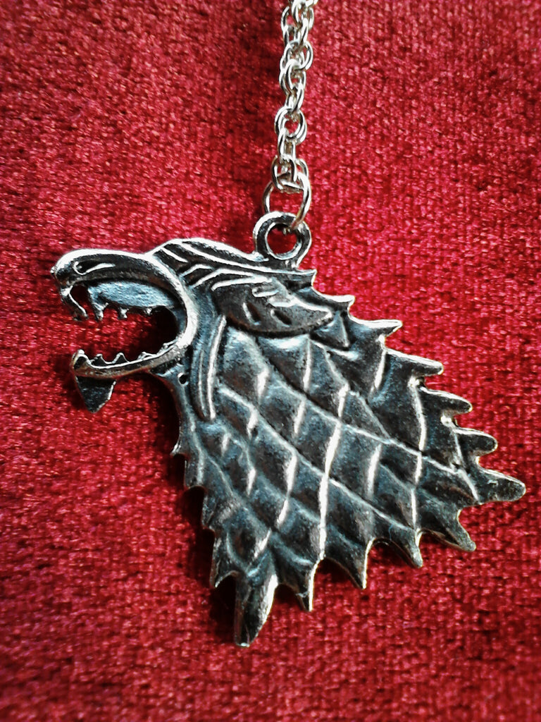 Stark Wolf Necklace